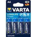 Batterien Varta Longlife Power Mignon AA Blister/4