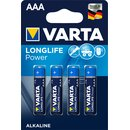 Batterien Varta Longlife Power Micro AAA Blister/4