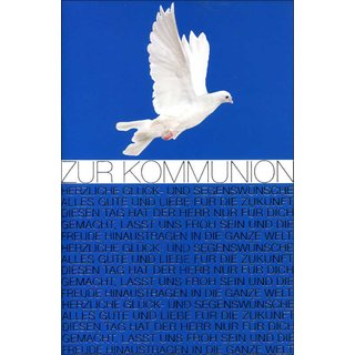 Grußkarten Kommunion Variationen Set/30