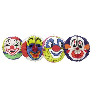 Laterne Clown  Set/6