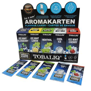 Tobaliq Aromakarten 125er Mix Display/125